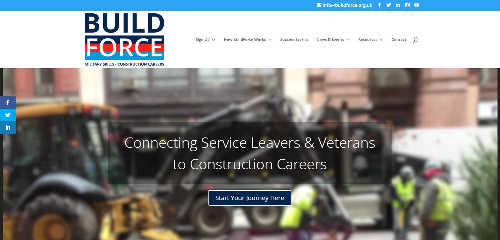 BuildForce Website