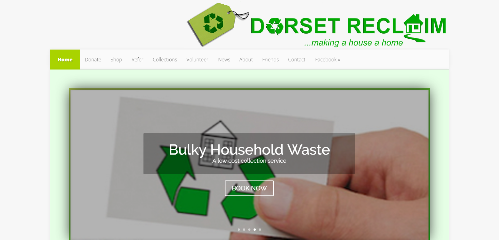Dorset Reclaim Website